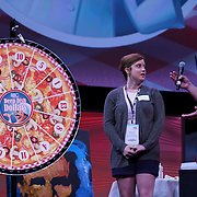 Cardinal Health RBC 2016. Closing Session Deep Dish Dollars contest. $5000 winner Karlyn Armsworthy (Foster Drug).  Photo by Alabastro Photography.