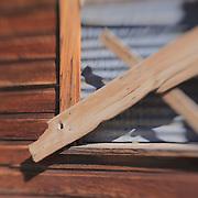 Boarded Window - Bodie, CA - Lensbaby