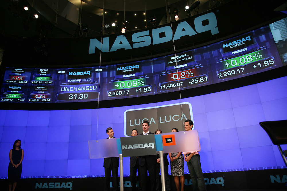 Mercedes Benz Fashion Week Spring 2009 &ndash; Luca Luca Chief Executive Officer, President and Creative Director <br />