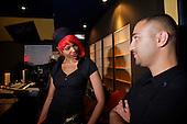 6/18/2010 - Trish and Rodney Jerkins in the Studio