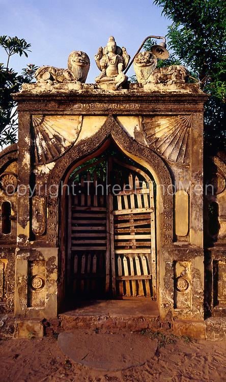 """Maheswari Vasa"" entrance doorway."