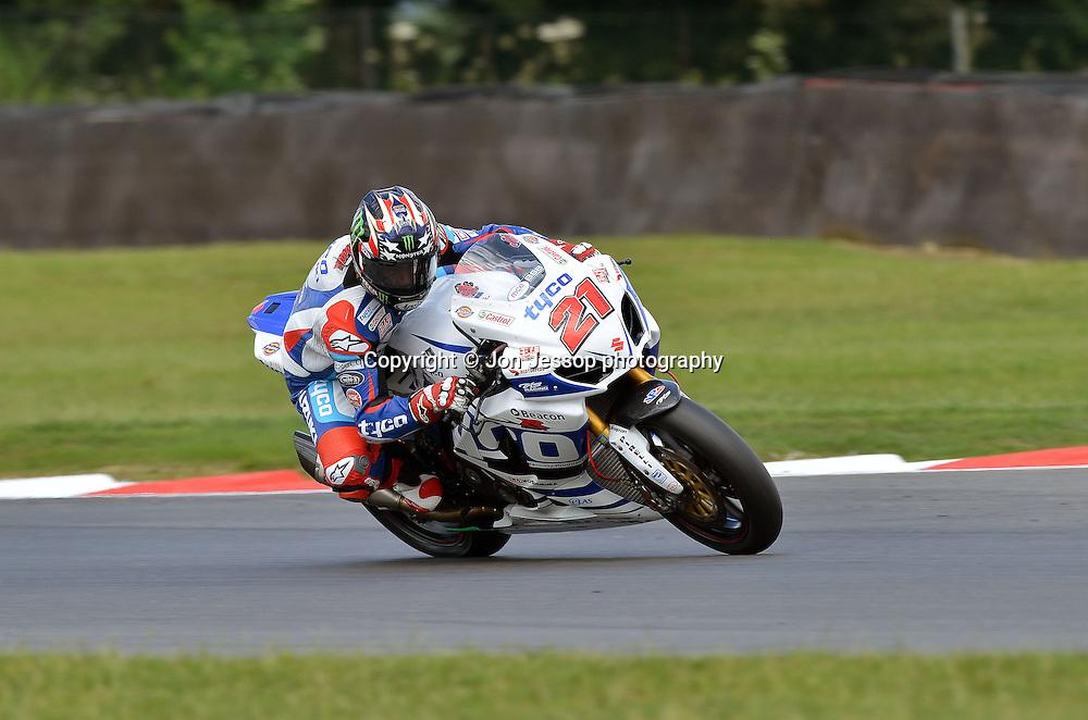 #21 John Hopkins Tyco Suzuki British Superbikes