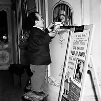 Mickser Reid at Olympia Theatre.11/12/1952..Mickser Reid was an Irish Actor and Comedian.  He starred in many plays and pantomimes over the years.  He died 25 September 1968