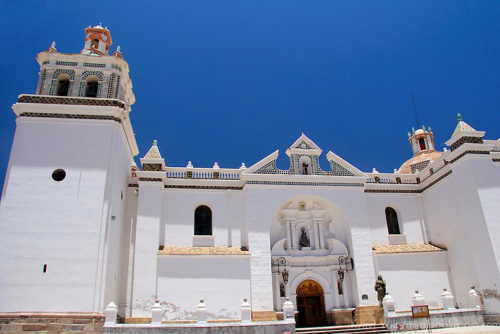 South America, Bolivia, Copacabana. Basilica of Our Lady of Copacabana.
