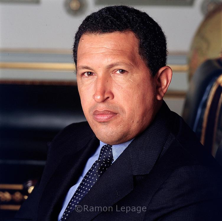 <b>Hugo Rafael</b> Chávez Frías, Presidente de la República Bolivariana de <b>...</b> - 060518RL001