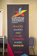 Banner<br /> LEN European Championships Congress<br /> Rome 27-10-2016<br /> Sheraton Hotel Parco de' Medici<br /> Photo Pasquale Mesiano/Deepbluemedia/Insidefoto