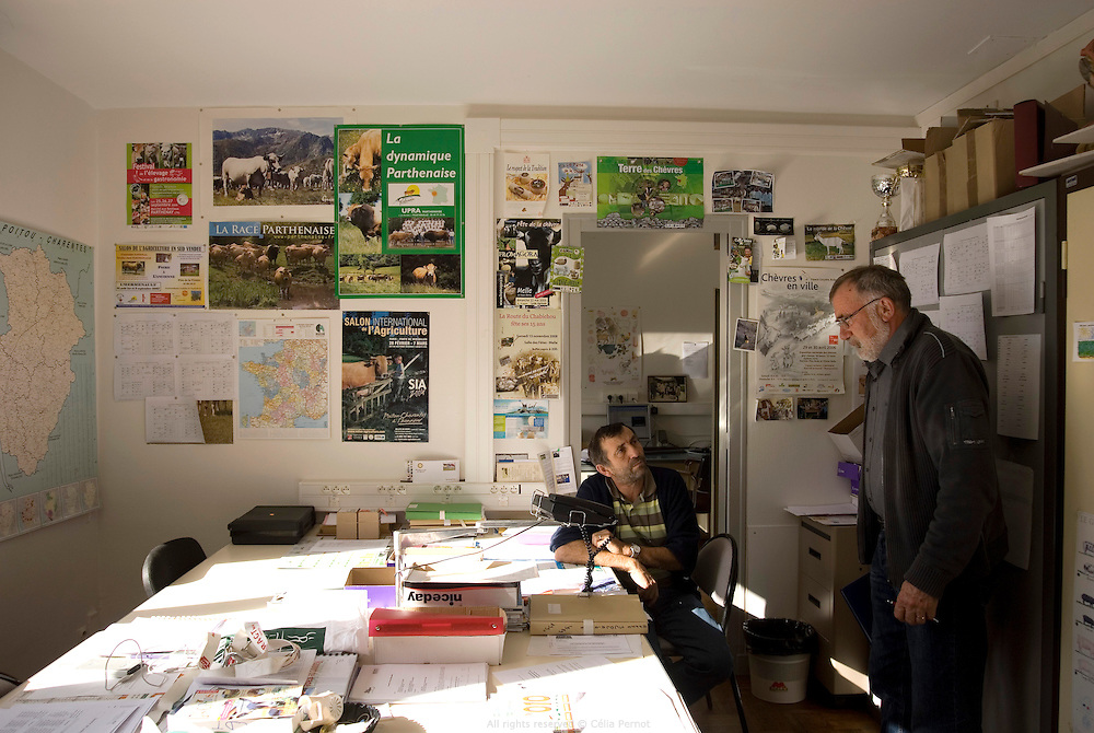 Au lycée agricole Jacques Bujault, Melle, Poitou-Charentes 2010