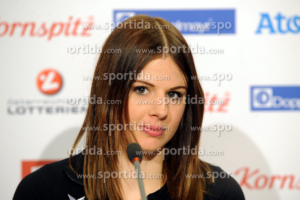 14.02.2014, Austria Tirol House, Krasnaya Polyana, RUS, Sochi, 2014, im Bild SUANNE MOLL // SUANNE MOLL during the Olympic Winter Games Sochi 2014 at the Austria Tirol House in Krasnaya Polyana, Russia on 2014/02/14. EXPA Pictures © 2014, PhotoCredit: EXPA/ Erich Spiess