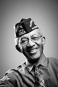 Calvin R. Arrington, Jr. <br /> Air Force<br /> E-7<br /> Transportation Consultant<br /> Jun. 1968 - Aug. 1991<br /> Vietnam, Panama Canal, Grenada, Desert Storm<br /> <br /> Veterans Portrait Project<br /> St. Louis, MO