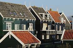 Marken, former island, Waterland, Noord Holland, Netherlands