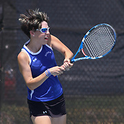 Dover Emma Patterson in action during a DIAA Tennis State final match Tuesday, May. 26, 2015 at UD Field House in Newark, DEL