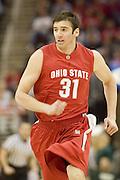 December 18, 2007: Ohio State's Kosta Koufos #31 hustles down court during the John McClendon Scholarship Classic in Cleveland, Ohio. Ohio State won the match 80-63. Michael Ciu / CSM..