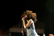 Erykah Badu at The 26th Annual Martin Luther King Concert Series held at Wingate Field in Brooklyn, NY on August 4, 2008..The Martin Luther King Jr. Concert Series is celebrating its spectacular 26th season with a star-studded line-up of gospel, classic soul, contemporary, Caribbean and R&B artists.