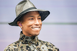 Pharrell Williams plays the main stage on Sunday at Glasgow Green, BBC Radio 1's Big Weekend Glasgow 2014.