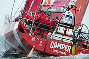 CAMPER with Emirates Team New Zealand. In Port Race Galway Ireland. Volvo Ocean Race 2011-2012. 7/7/2012