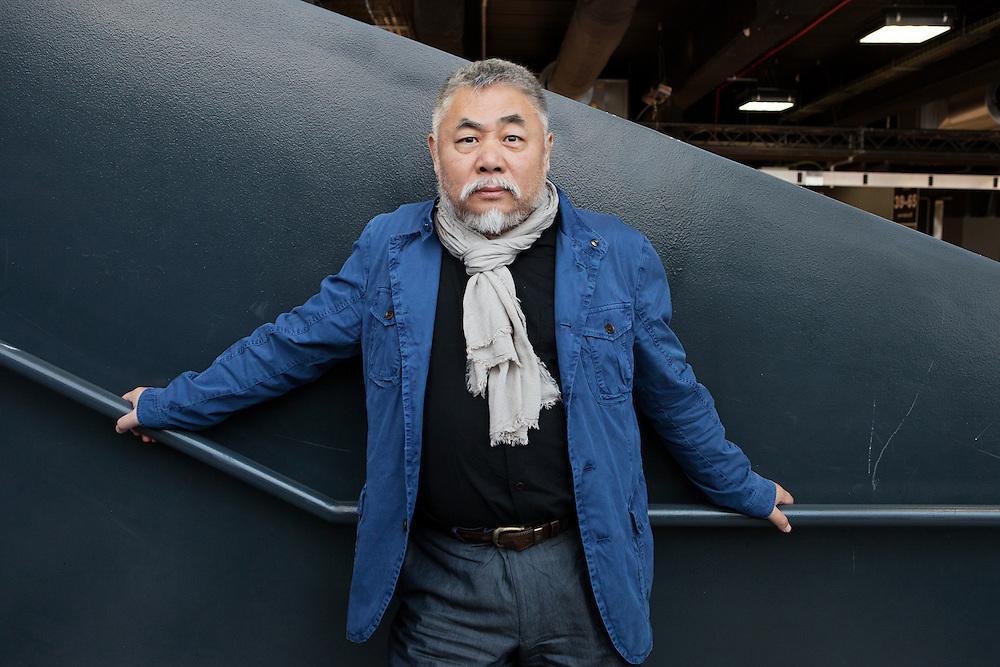 Milan, Italy, April 30, 2016. Chinese artist Song Yongping.