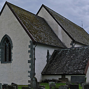 The old medieval church at Rosendal in Kvinherad municipality in Hordaland county, Norway.