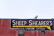 Butte, Montana, Sheep Shearers Union Office, established 1910