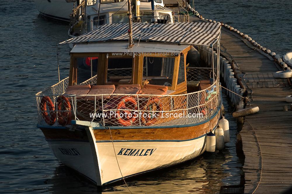 Turkey, Antalya Province, Kas The fishing harbour
