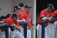 Ole Miss Head Coach Mike Bianco (5) vs. Lipscomb at Oxford-University Stadium in Oxford, Miss. on Sunday, March 13, 2011. Ole Miss won 5-1 to sweep the series and improve to 13-4.