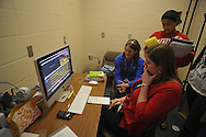 Oxford High broadcast journalism class in Oxford, Miss. on Monday, November 29, 2010.