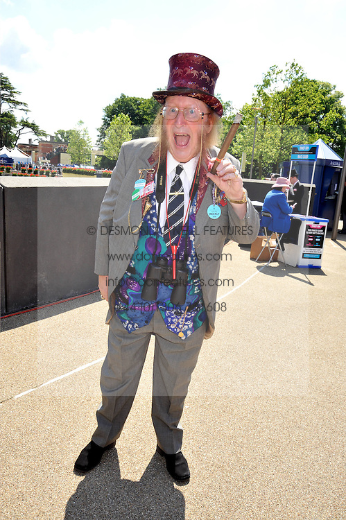 John McCririck at at the first day of the 2009 Royal Ascot racing festival on 16th June 2009.