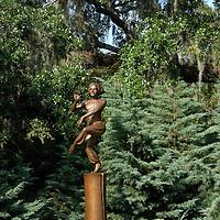 A sculpture in the Brookgreen Gardens in Murrells Inlet, SC. Photographed 8/30/08.
