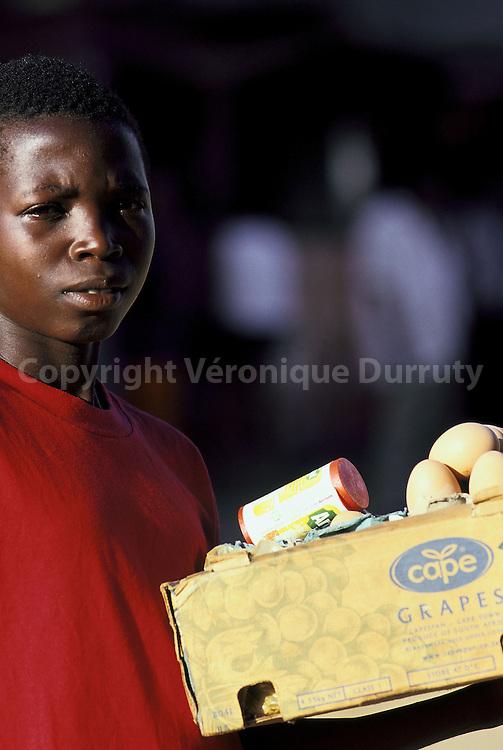PORTRAIT D'ENFANT, MAPUTO, MOZAMBIQUE