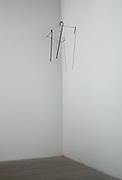 Richard Wentworth: Untitled. 2009 Installation, walking sticks..53rd Venice Biennale, 7 June - 22 November 2009..Arsenale -  Fare Mondi // Making Worlds. Central international exhibition, curated by Daniel Birnbaum.