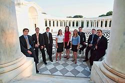 Memorial Amphitheater graduation class