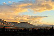 Sunset in Denali National Park