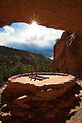Kiva at Bandelier National Monument, New Mexico.