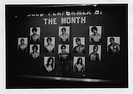 "Line up of ""Macho"" dancers who perform for money for male clients, Ermita, Manila, Philippines."