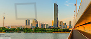 Donaucity, Danube City, DC Tower by architect Dominique Perrault, 250m, Vienna, Austria
