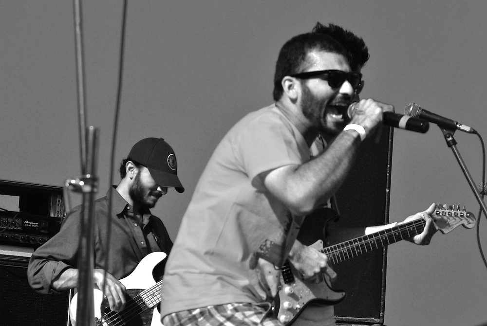 "In these pictures the opening act of the fest by a young upcoming Indian rock band called ""tough on Tobacco"" Something relevant is a jamband from Mumbai who performed to a large fan following at the Sulafest. They have performed in London, Goa, Pune and Mumbai."