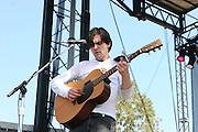 June 16, 2006; Manchester, TN.  2006 Bonnaroo Music Festival..Bright Eyes peforms at Bonnaroo 2006.  Photo by Bryan Rinnert