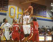 Oxford High vs. Potts Camp in girls high school basketball in Oxford, Miss. on Monday, November 8, 2010.