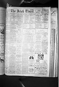 1964 Copies of Newspaper at Pearse St. Library