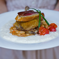 Grandma Lydie's Special duck confit served with white bean and sausage causoulet is as good as it looks.