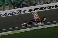 Buddy Rice at the Kansas Speedway, Kansas Indy 300, July 3, 2005