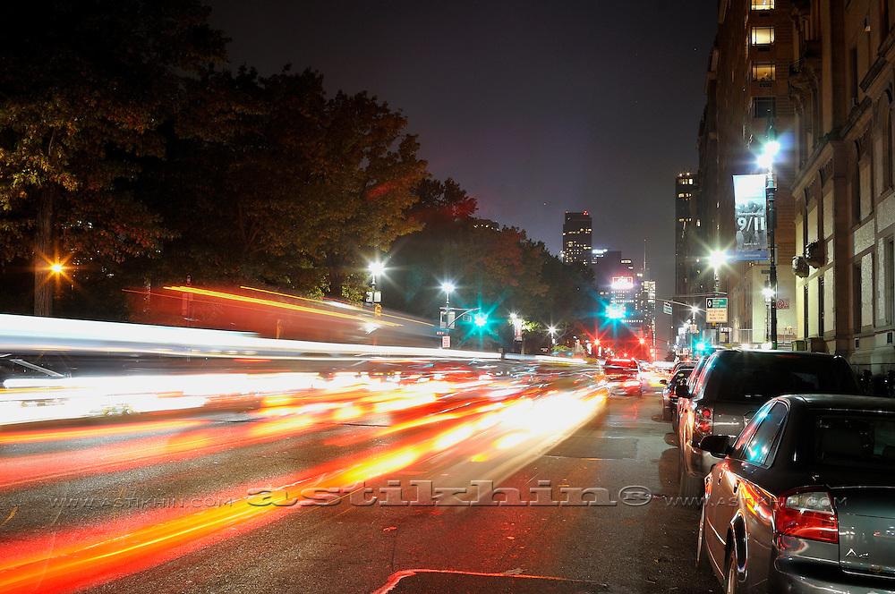 Motion in Manhattan, NYC.