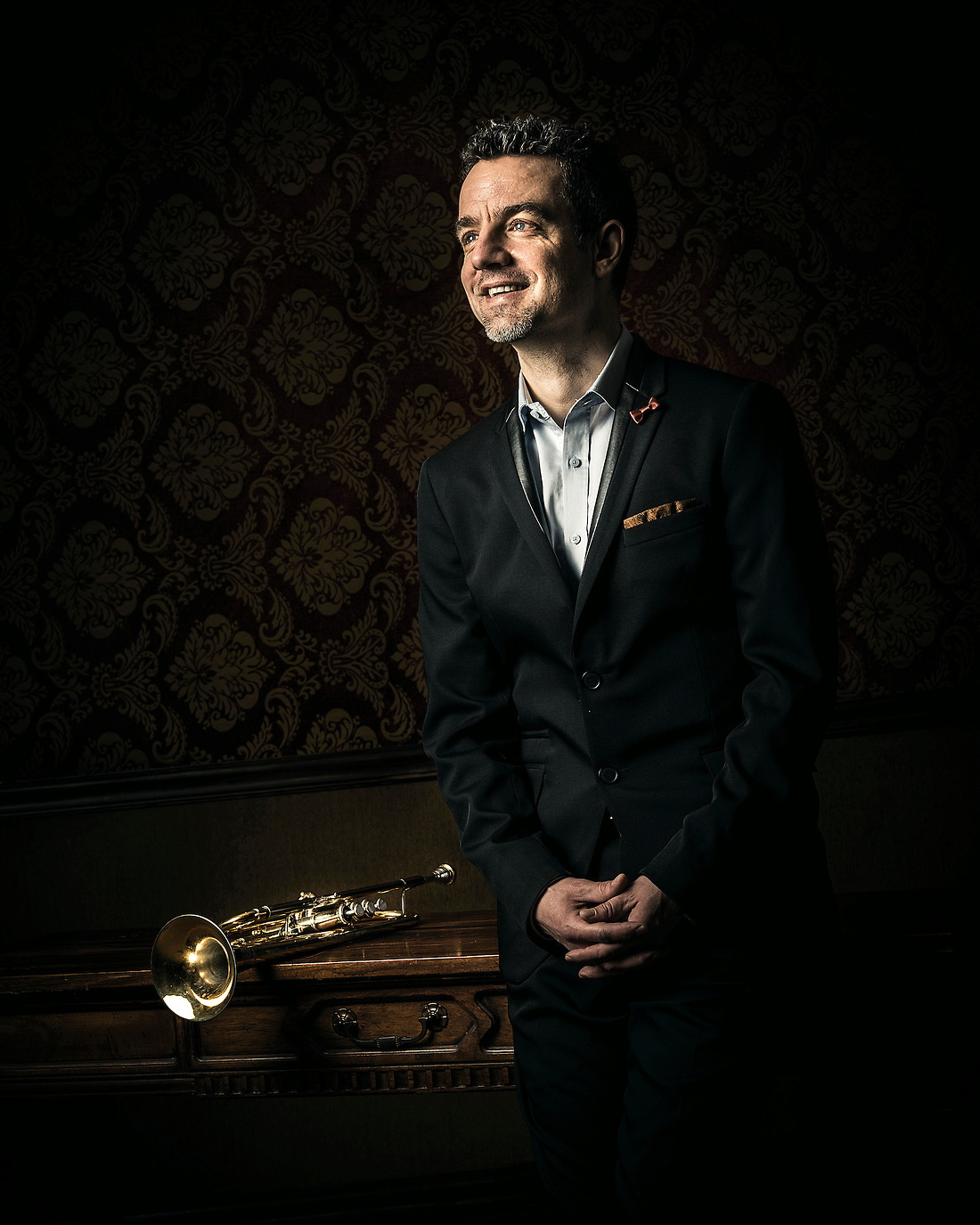 Joe Burgstaller International Trumpet Soloist / Clinician and former member of Canadian Brass. — © Jeremy Lock/
