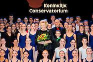 Koninklijk Conservatorium bedankt Beatrix