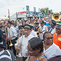 Crowd Shots, New Orleans Jazz & Heritage Foundations 2013