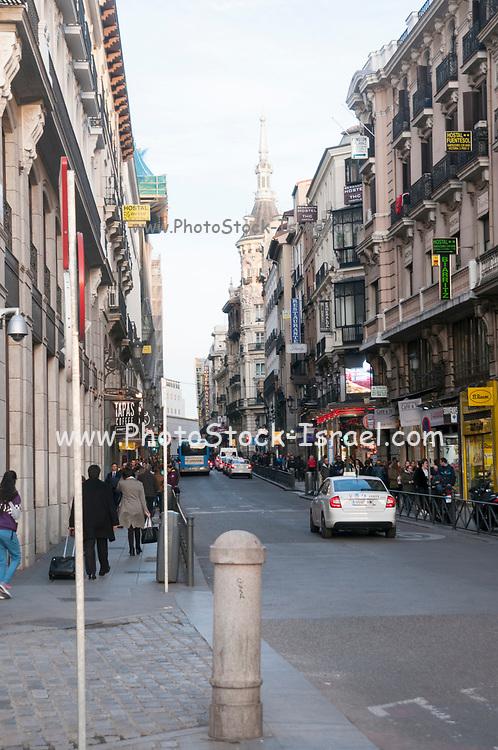 Madrid Spain, Carrera de san Jeronimo