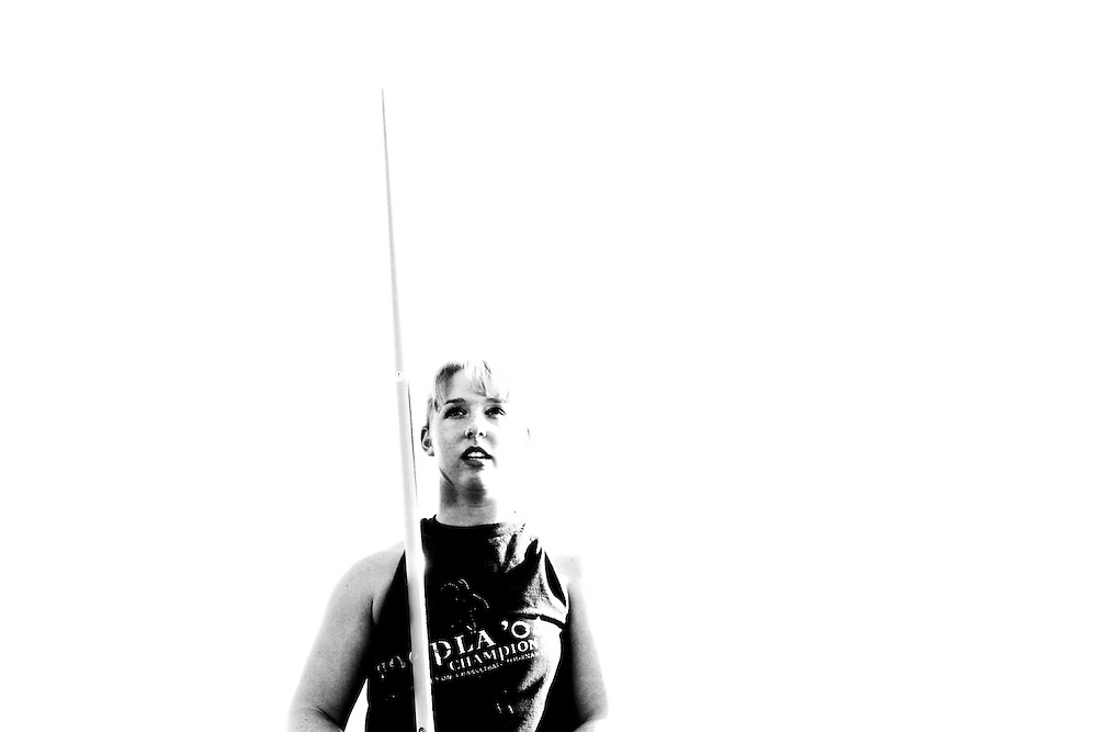 Jefferson's Chrissi Grizzel, one of the best high school javelin throwers in the nation, is ready for greater competition at the collegiate level.