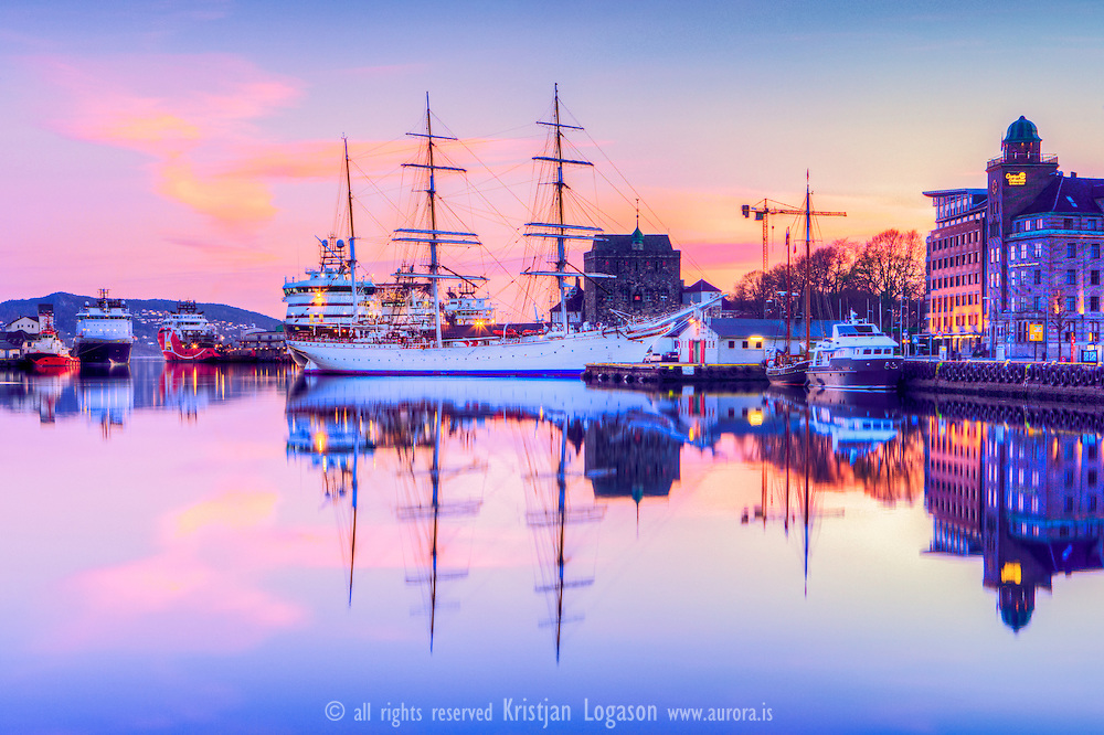 Statsraad Lehmkuhl is A three-masted barque sail training vessel built in 1914, one of the best kept in its kind.