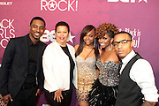 October 13, 2012- Bronx, NY: Cast of BET 106 & Park-(L-R) Shorty Da Prince, Debra Lee, President & CEO, BET Networks,  Bow Wow, Paigion, Miss Mykie and Bow Wow at the Black Girls Rock! Awards Red Carpet presented by BET Networks and sponsored by Chevy held at the Paradise Theater on October 13, 2012 in the Bronx, New York. BLACK GIRLS ROCK! Inc. is 501(c)3 non-profit youth empowerment and mentoring organization founded by DJ Beverly Bond, established to promote the arts for young women of color, as well as to encourage dialogue and analysis of the ways women of color are portrayed in the media. (Terrence Jennings)