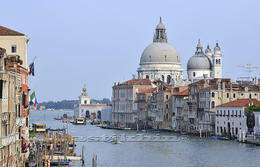 Santa Maria della Salute on Grand Canal
