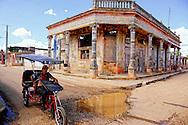 Bicitaxi in Alquizar, Artemisa, Cuba.